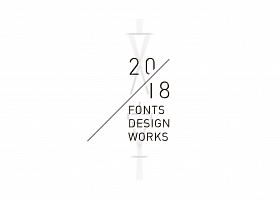 FONT DESIGN WORKS IN 2018|beplay娱乐设计