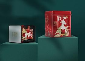 鹿妃LUFEI-大红袍茶品牌包装