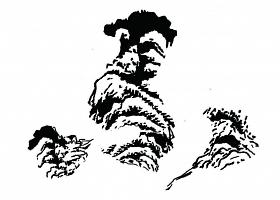 雨田字设(独坐敬亭山)